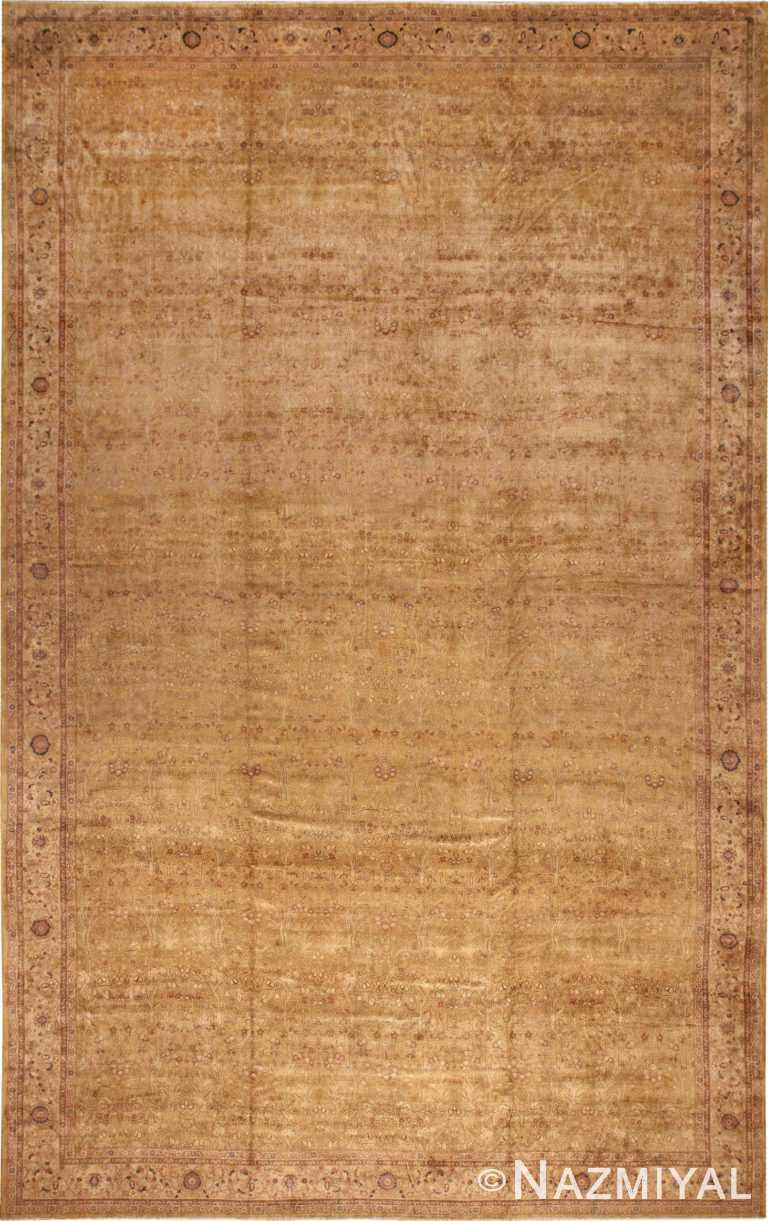 Oversize Antique Decorative Turkish Hereke Rug 50384