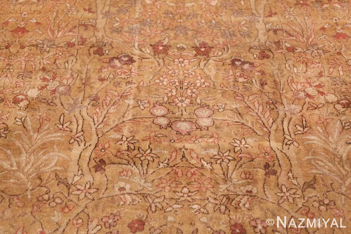 Oversize Antique Turkish Hereke Rug 50384 Pomegranate Tree Nazmiyal