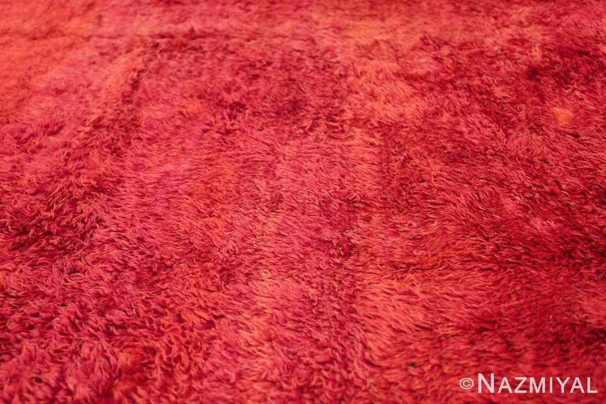 Room Size Vintage Moroccan Rug 49883 Texture Closeup Nazmiyal