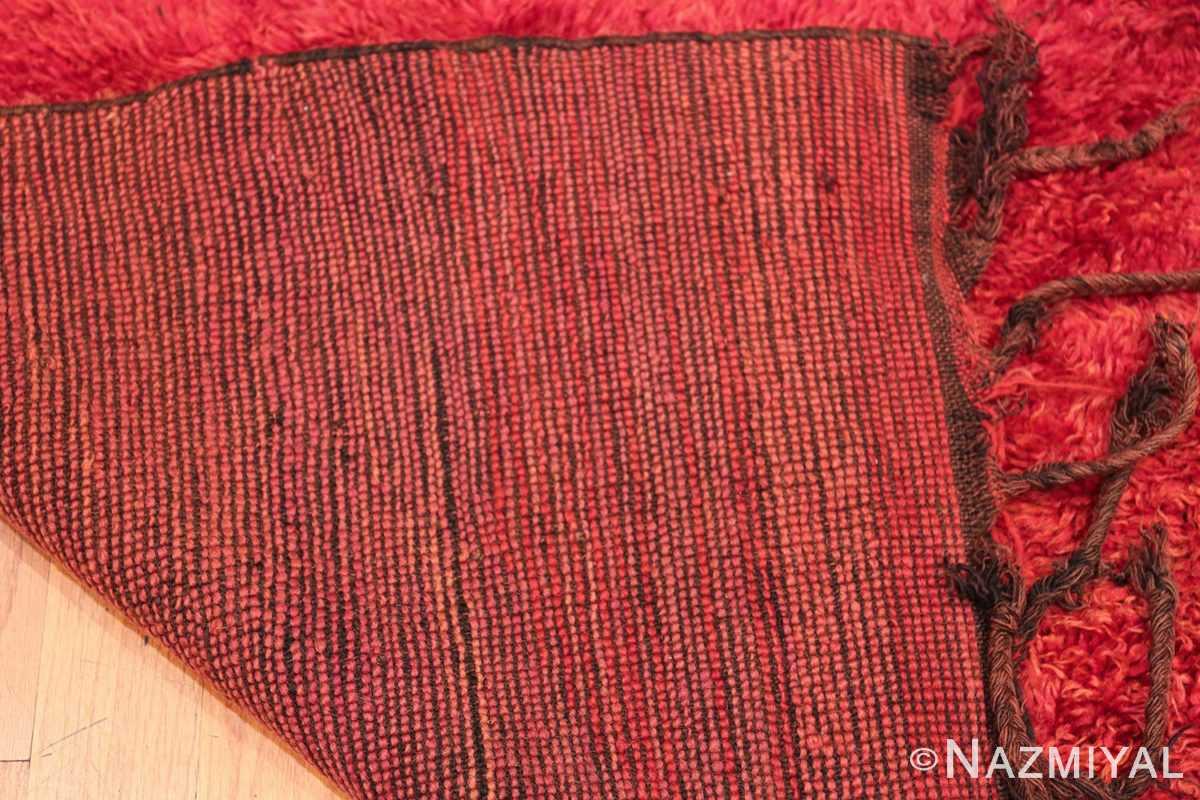 Room Size Vintage Moroccan Rug 49883 Woven Knots Nazmiyal