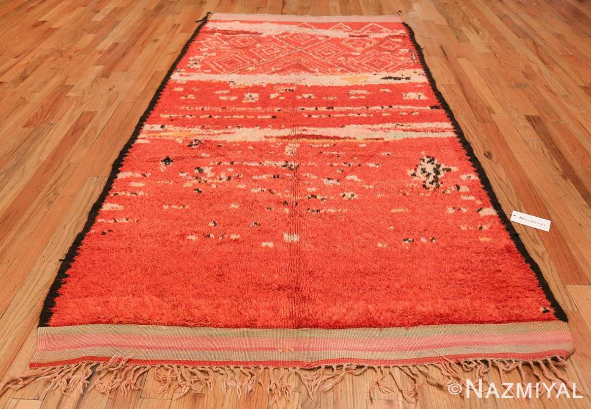 Room Size Vintage Moroccan Rug 49893 Whole Design Nazmiyal