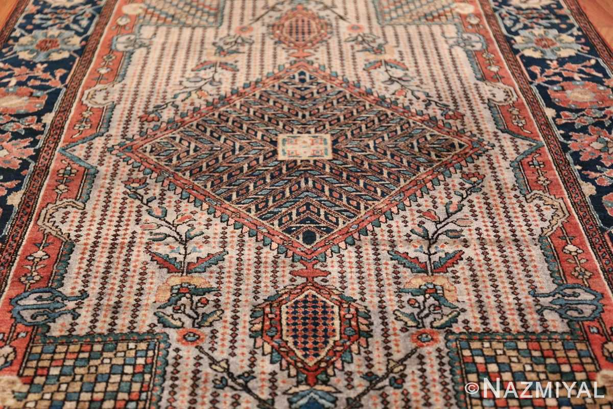 Small Size Antique Persian Farahan Rug 49842 Field Design Nazmiyal