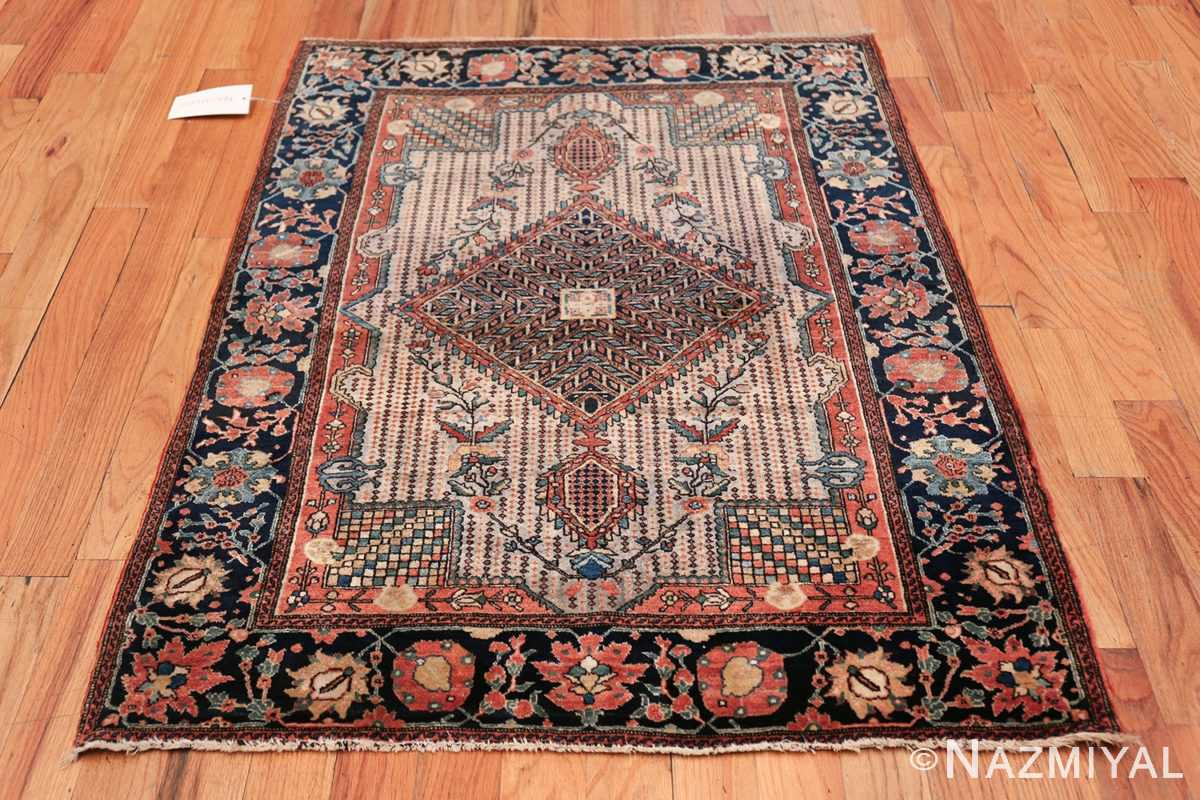 Small Size Antique Persian Farahan Rug 49842 Whole Design Nazmiyal