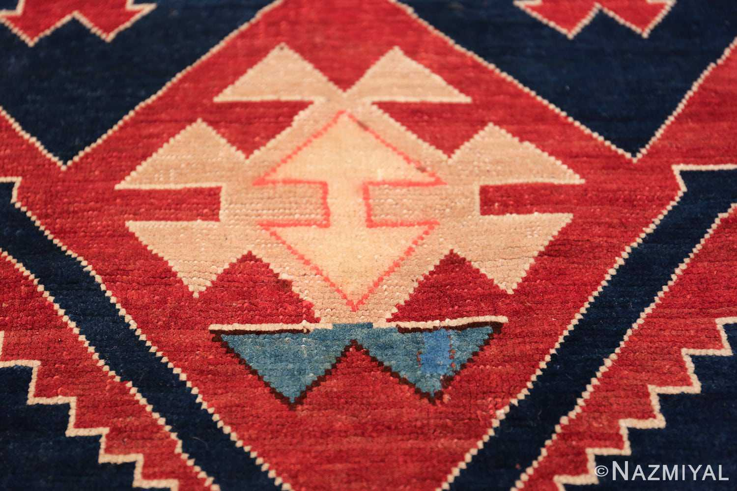 Small Size Tribal Antique Caucasian Avar Rug 49852 Inner Design Nazmiyal