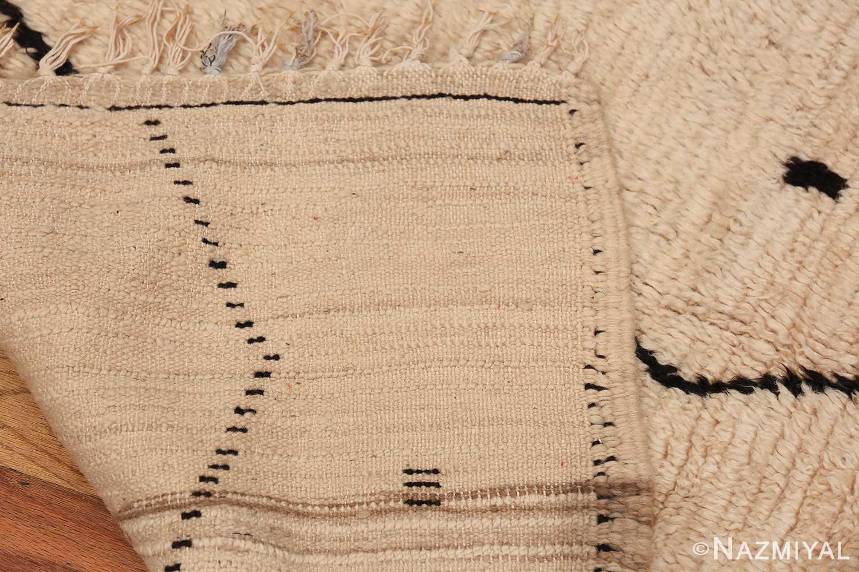 Small Size Vintage Moroccan Rug 49889 Woven Knots Nazmiyal