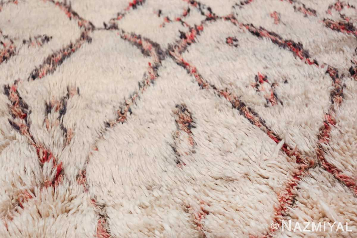 Vintage Moroccan Rug 49882 Big diamonds Nazmiyal