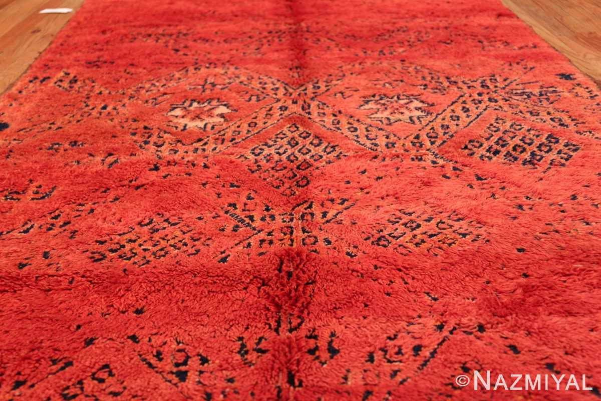 Vintage Room Size Double Sided Moroccan Rug 49880 Field Design Front Nazmiyal