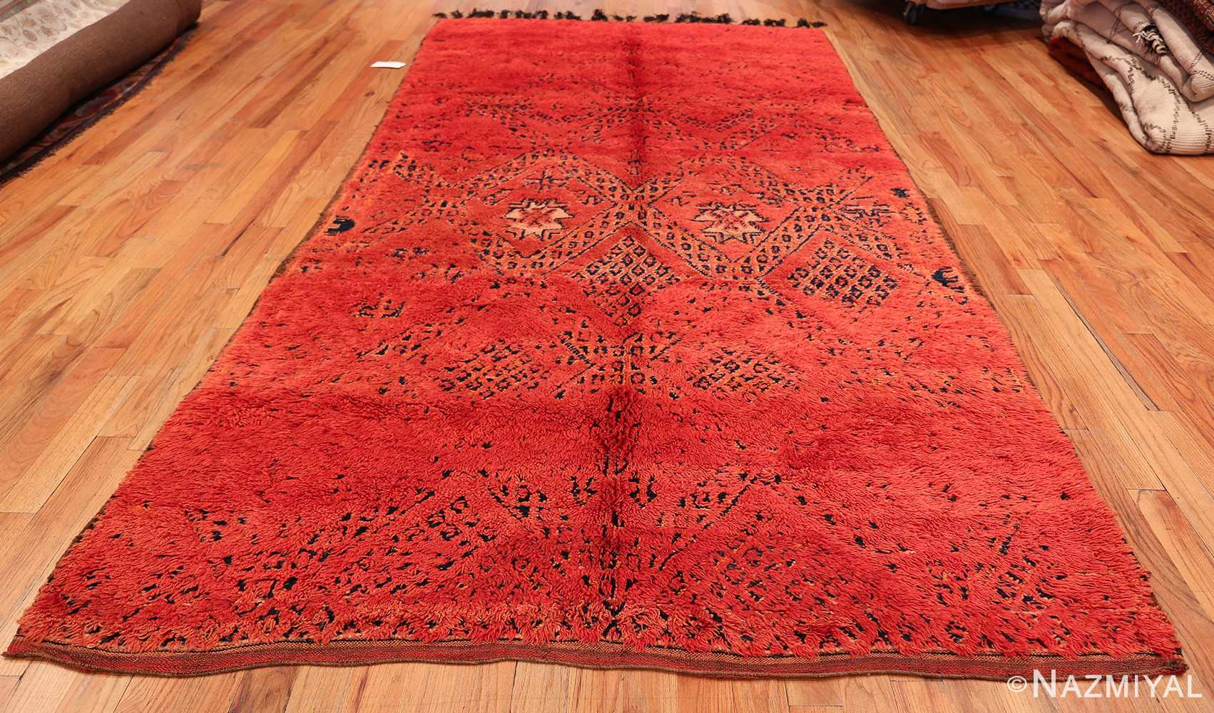 Vintage Room Size Double Sided Moroccan Rug 49880 Whole Design Nazmiyal