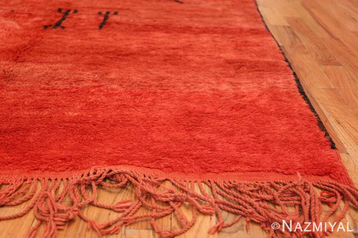 Vintage Tribal Moroccan Rug 49881 Side Corner Nazmiyal