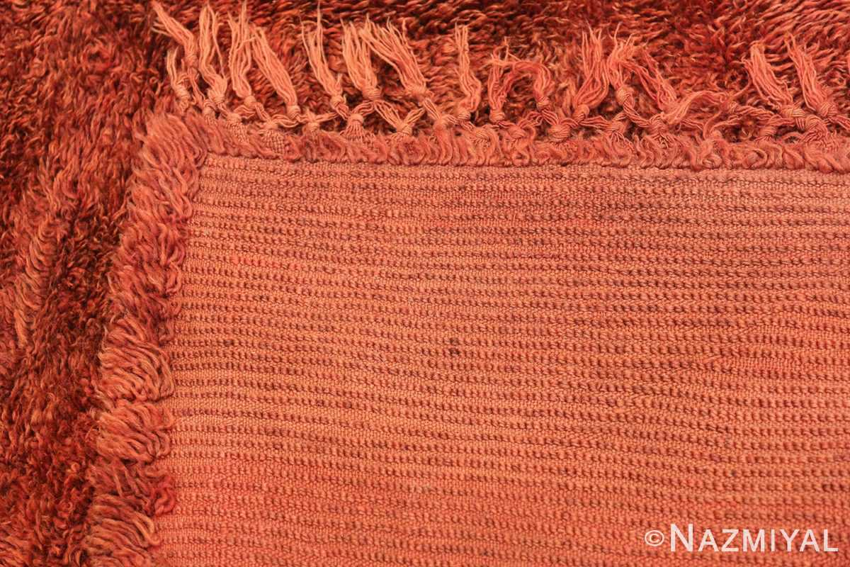 Vintage Tribal Moroccan Rug 49892 Woven Knots Nazmiyal