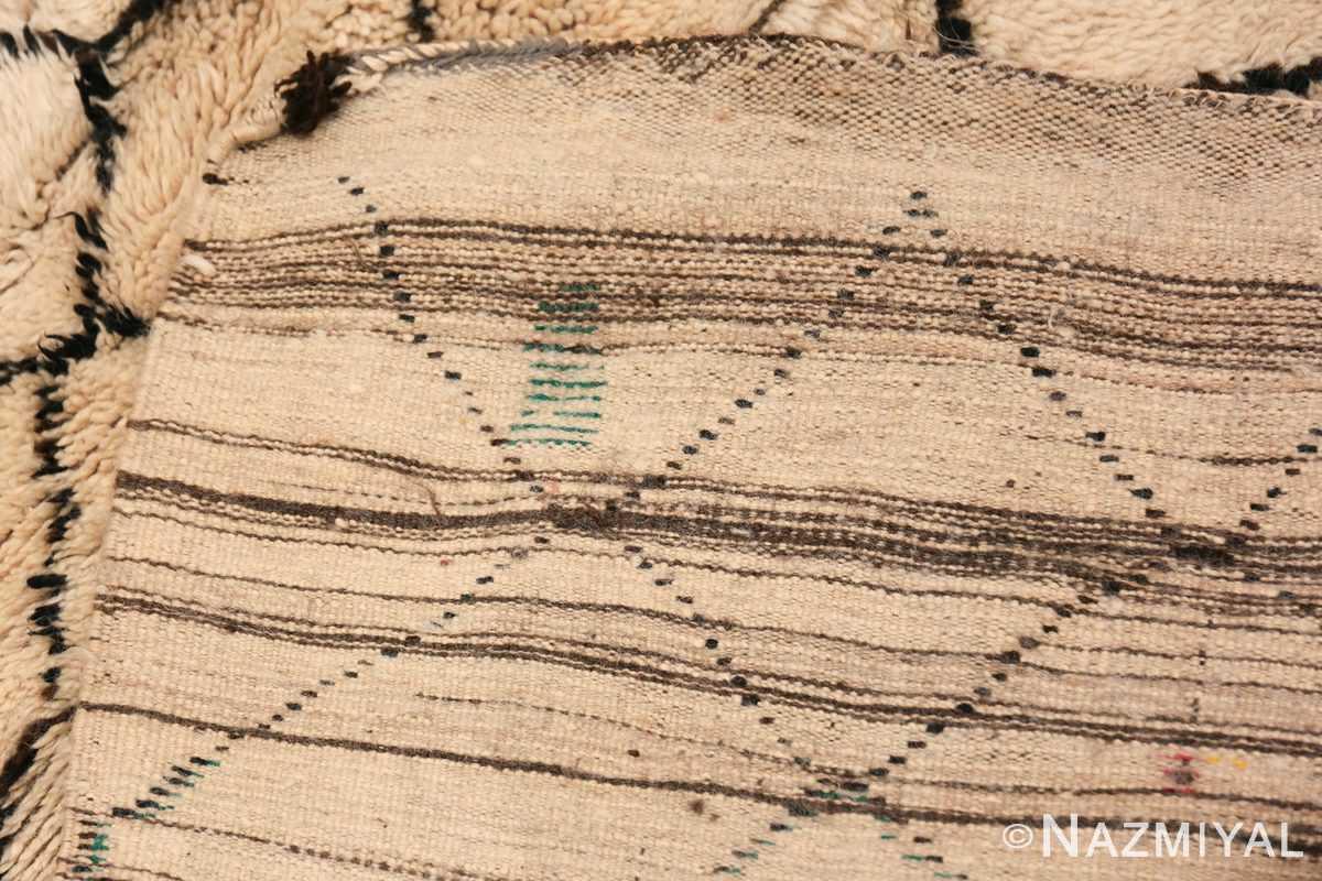 Wide Hallway Vintage Moroccan Rug 49885 Woven Knots Nazmiyal