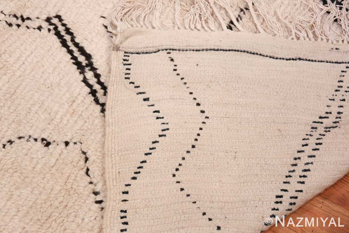 Wide Hallway Vintage Moroccan Rug 49897 Woven Knots Nazmiyal