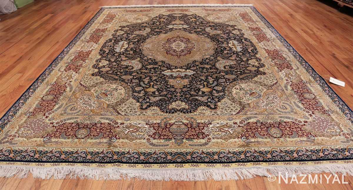 Animal Motif Silk Modern Chinese Rug 49923 Whole Design Nazmiyal