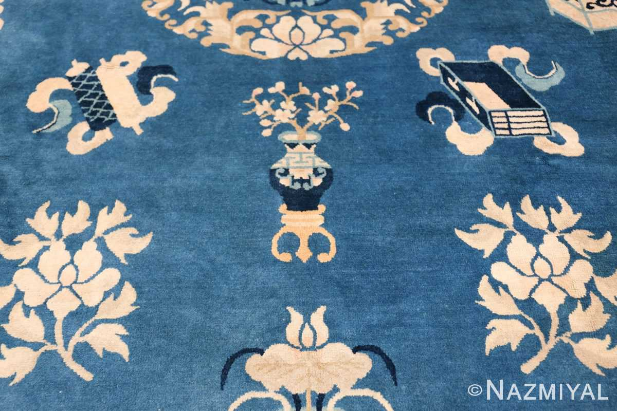 Antique Room Size Chinese Rug 49902 Bloom Letter Nazmiyal
