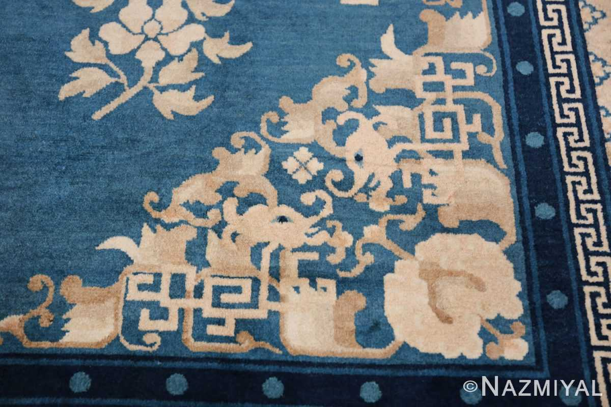 Antique Room Size Chinese Rug 49902 Dragon Head Nazmiyal