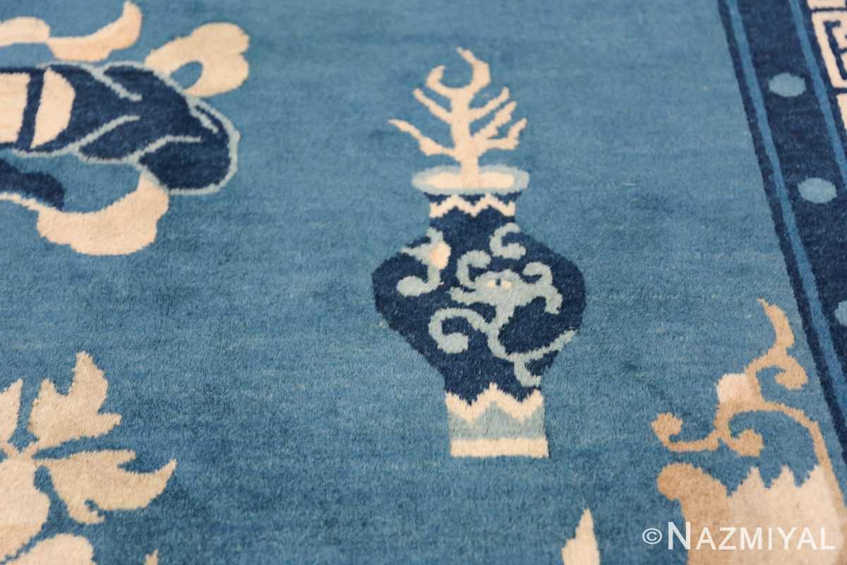 Antique Room Size Chinese Rug 49902 Dragon Vase Nazmiyal