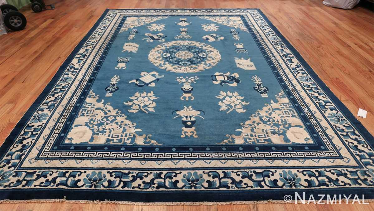 Antique Room Size Chinese Rug 49902 Whole Design Nazmiyal
