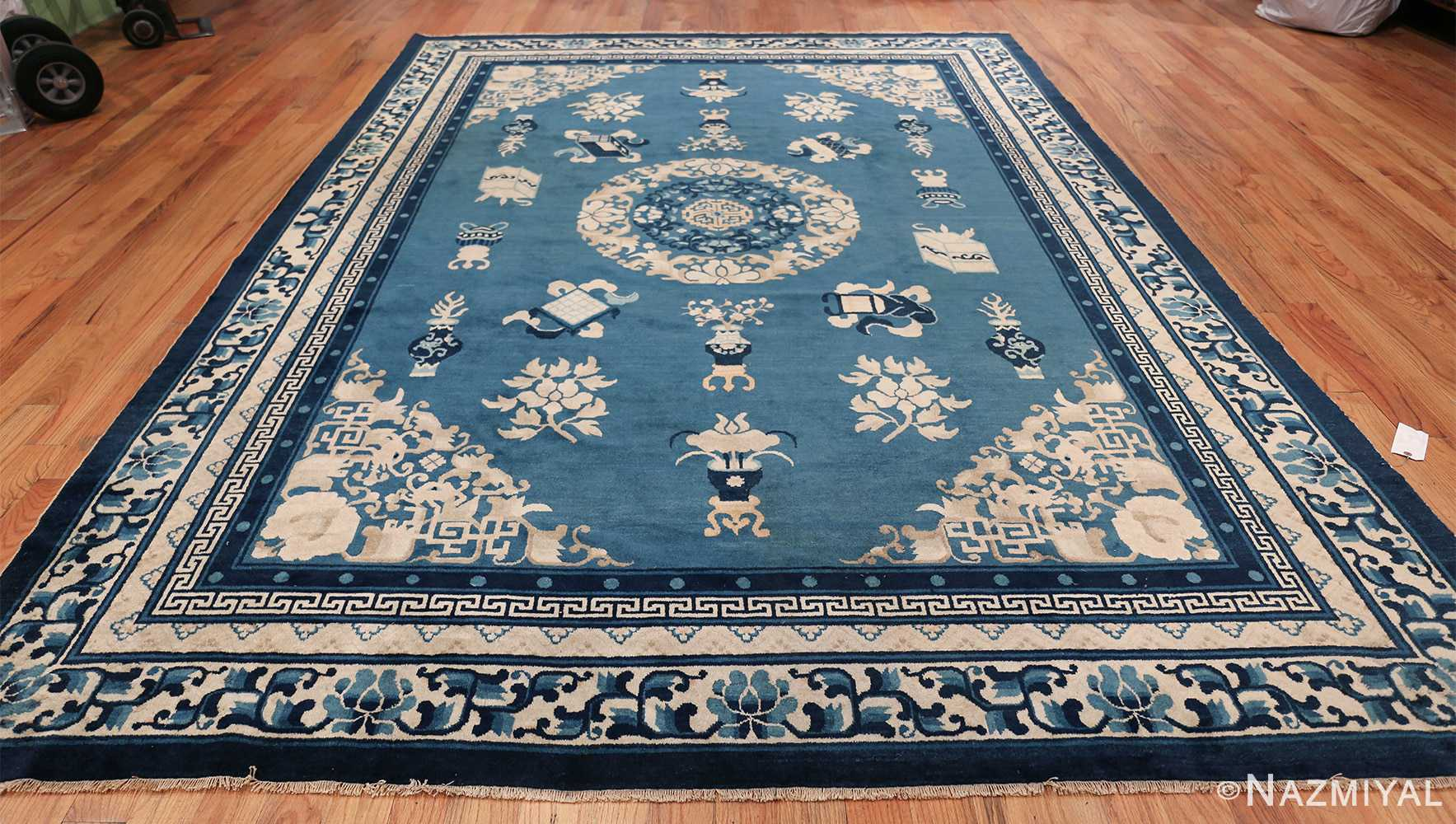 Antique Room Size Chinese Rug 49902 Whole Design Nazmiyal