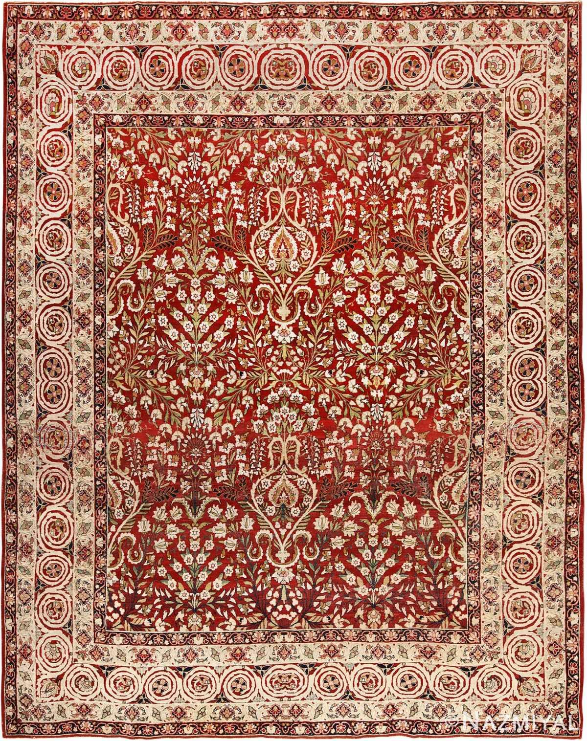 Antique Room Size Persian Kerman Carpet 49900 by Nazmiyal