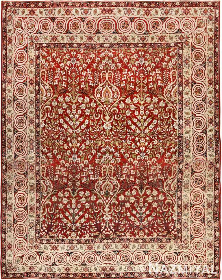 Antique Room Size Persian Kerman Carpet 49900 by Nazmiyal