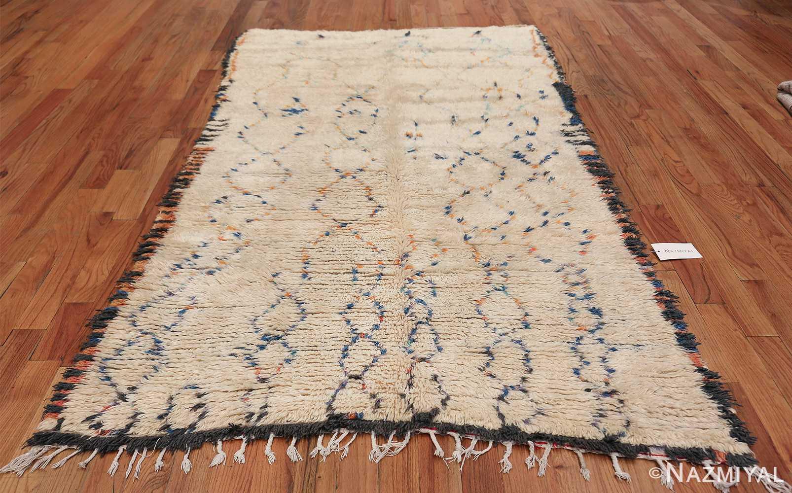 Geometric Vintage Moroccan Rug 49917 Whole Design Nazmiyal