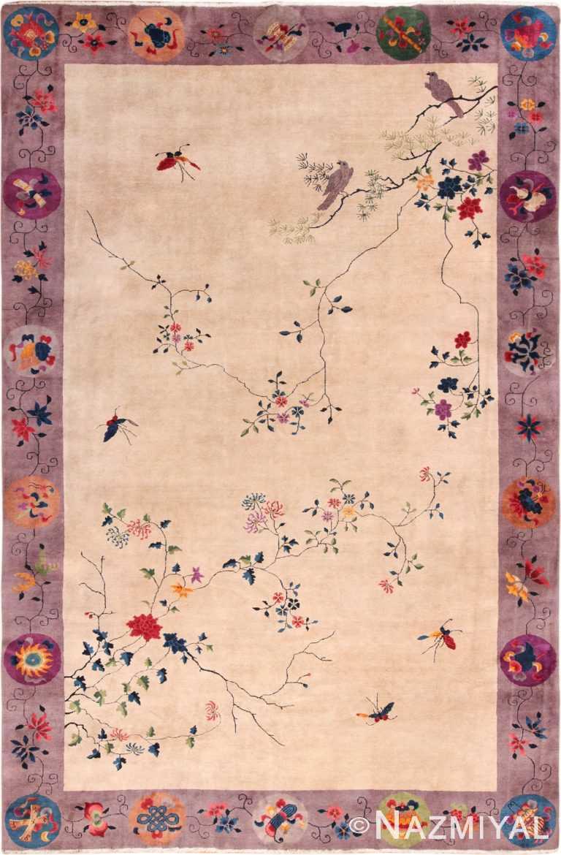 Large Antique Chinese Rug 49909 Nazmiyal