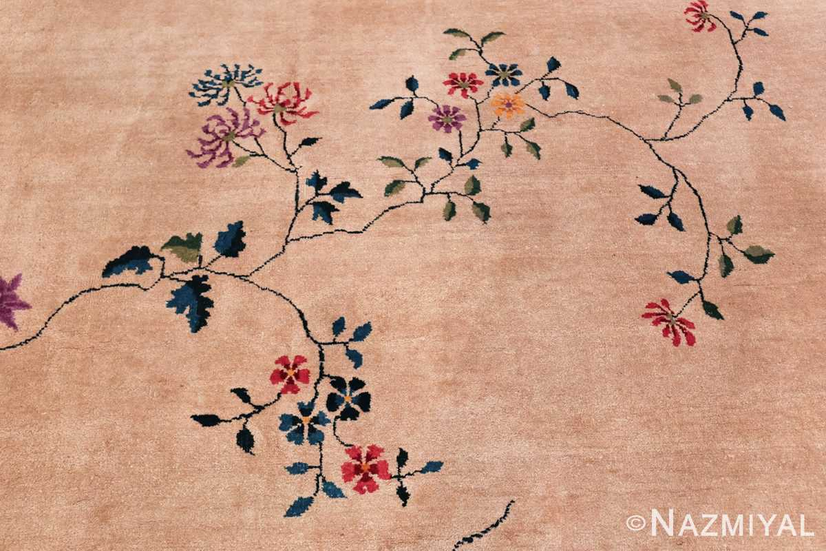 Large Antique Chinese Rug 49909 Branch Field Nazmiyal