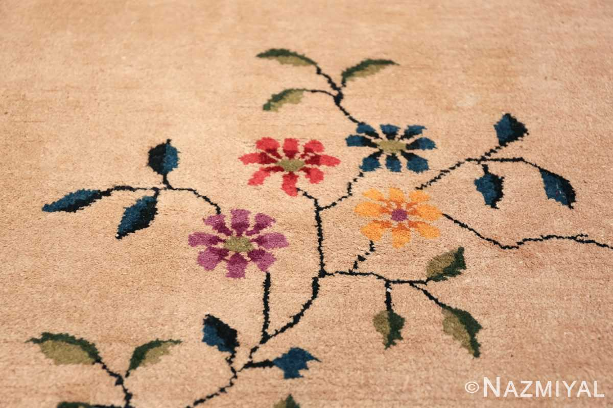 Large Antique Chinese Rug 49909 Closeup Texture Nazmiyal
