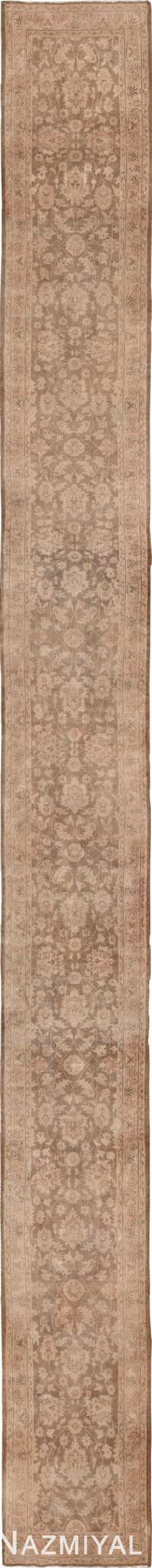 Long Vintage Turkish Sivas Runner Rug 50264 - Nazmiyal