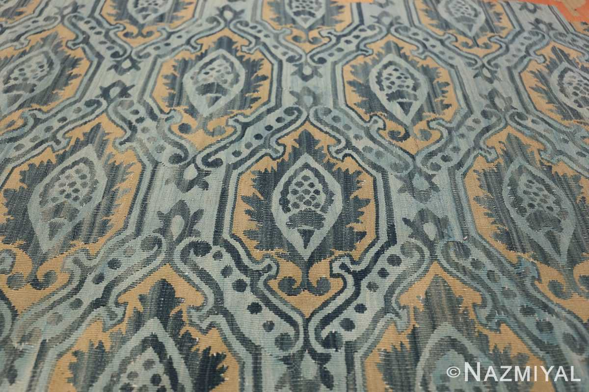 Mid 19th Century French Aubusson Tapestry 49908 Blue Part Nazmiyal