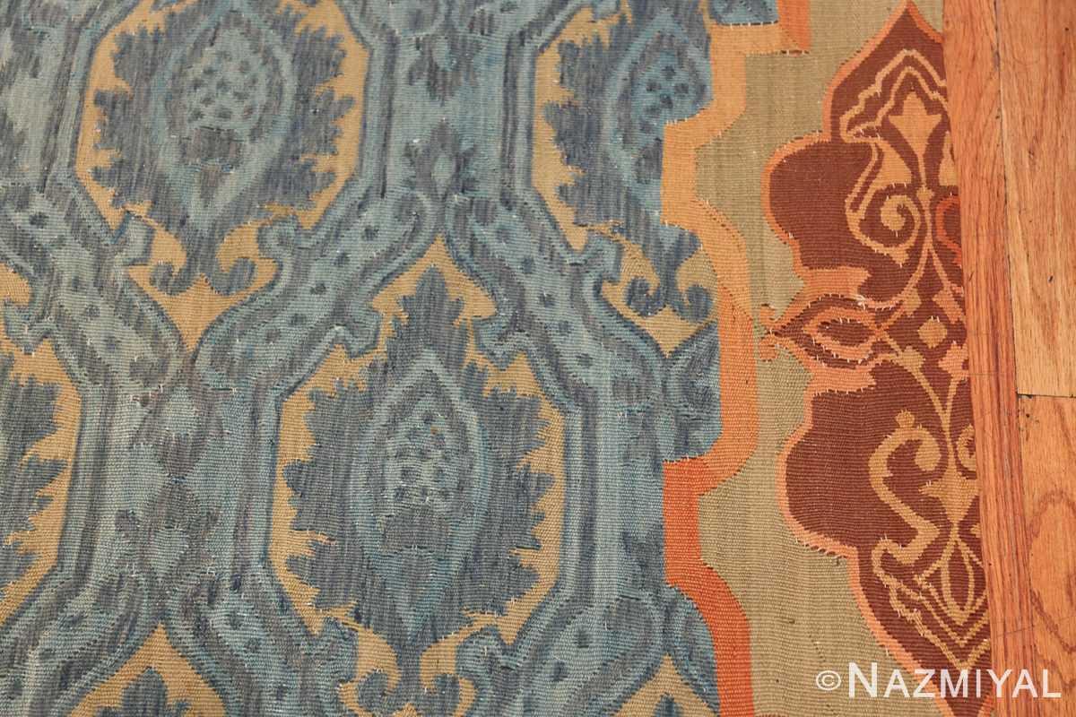 Mid 19th Century French Aubusson Tapestry 49908 Border Design Nazmiyal