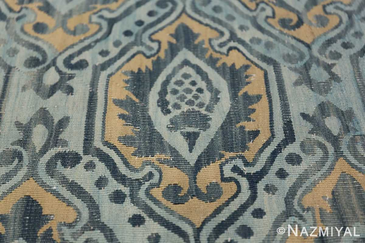 Mid 19th Century French Aubusson Tapestry 49908 Field Torch Nazmiyal