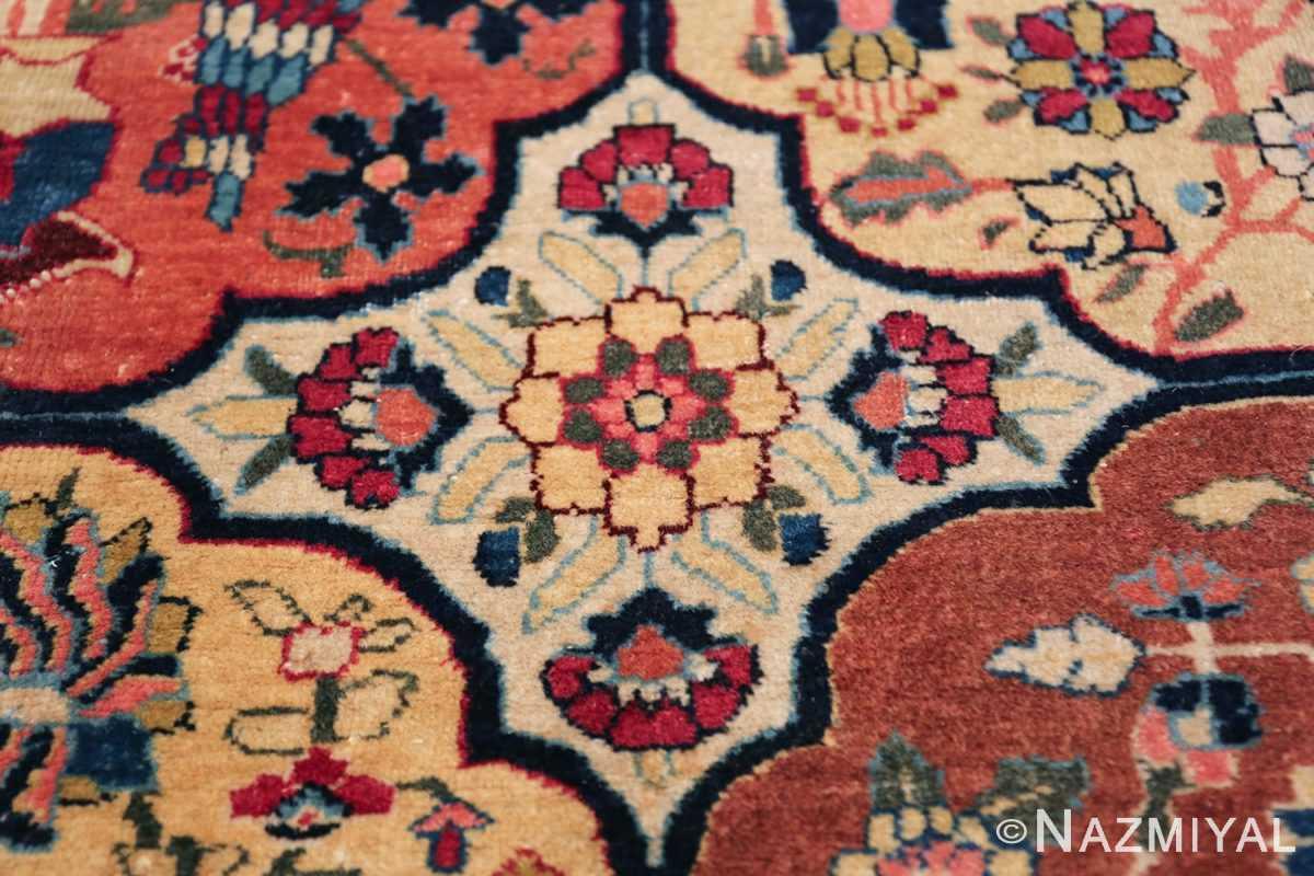Room Size Antique Persian Tabriz Rug 48580 Closeup Texture Nazmiyal