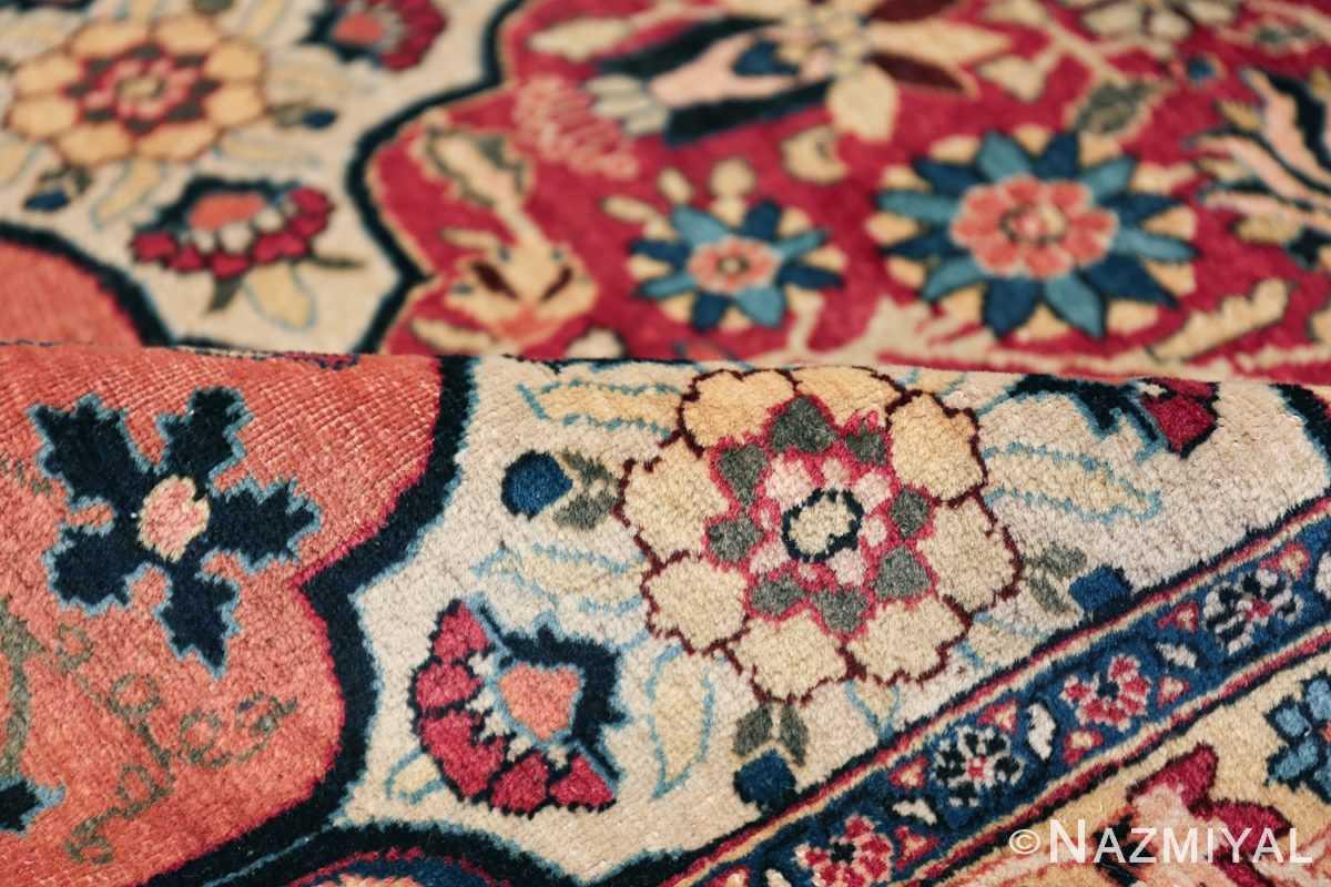 Room Size Antique Persian Tabriz Rug 48580 Field Design Nazmiyal