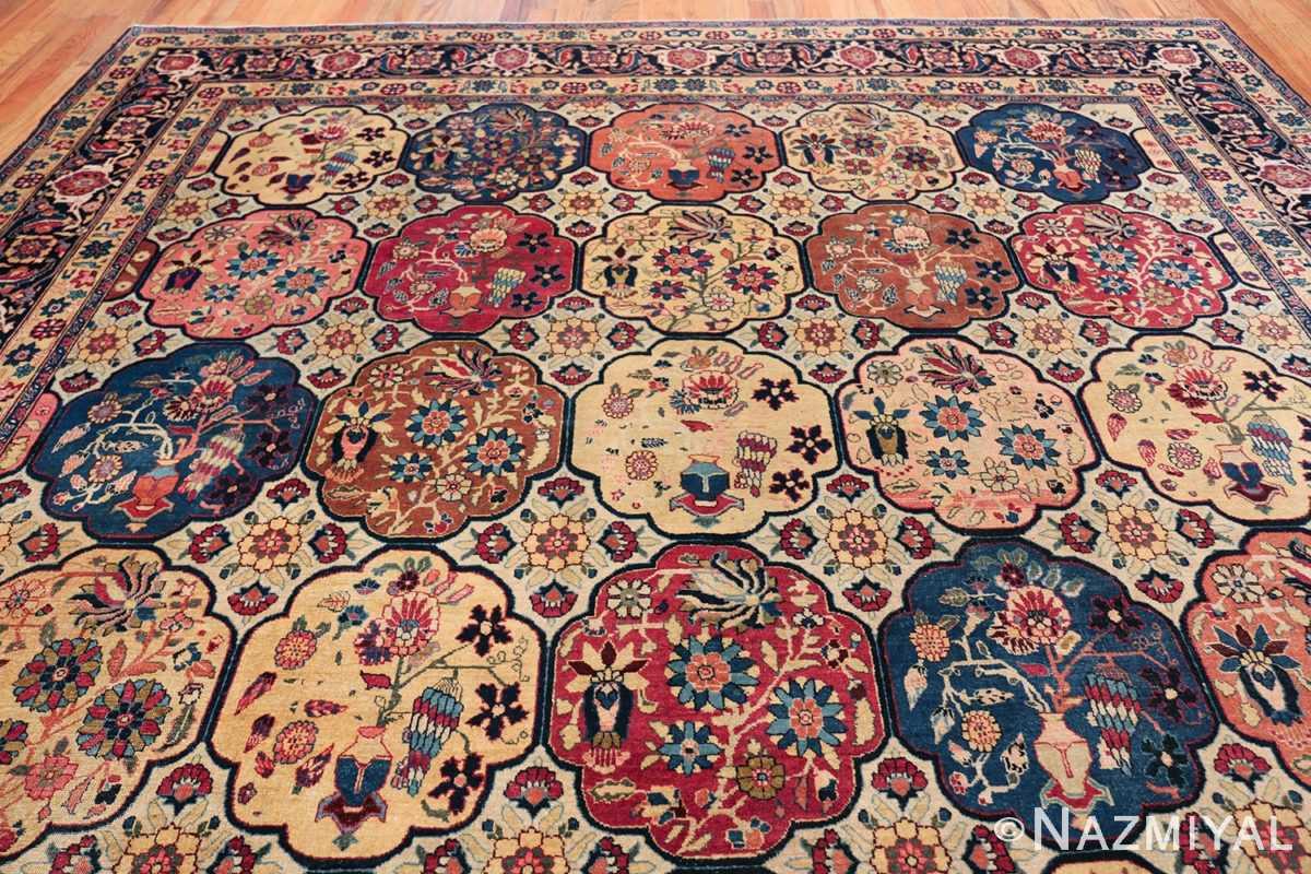 Room Size Antique Persian Tabriz Rug 48580 Top Design Nazmiyal