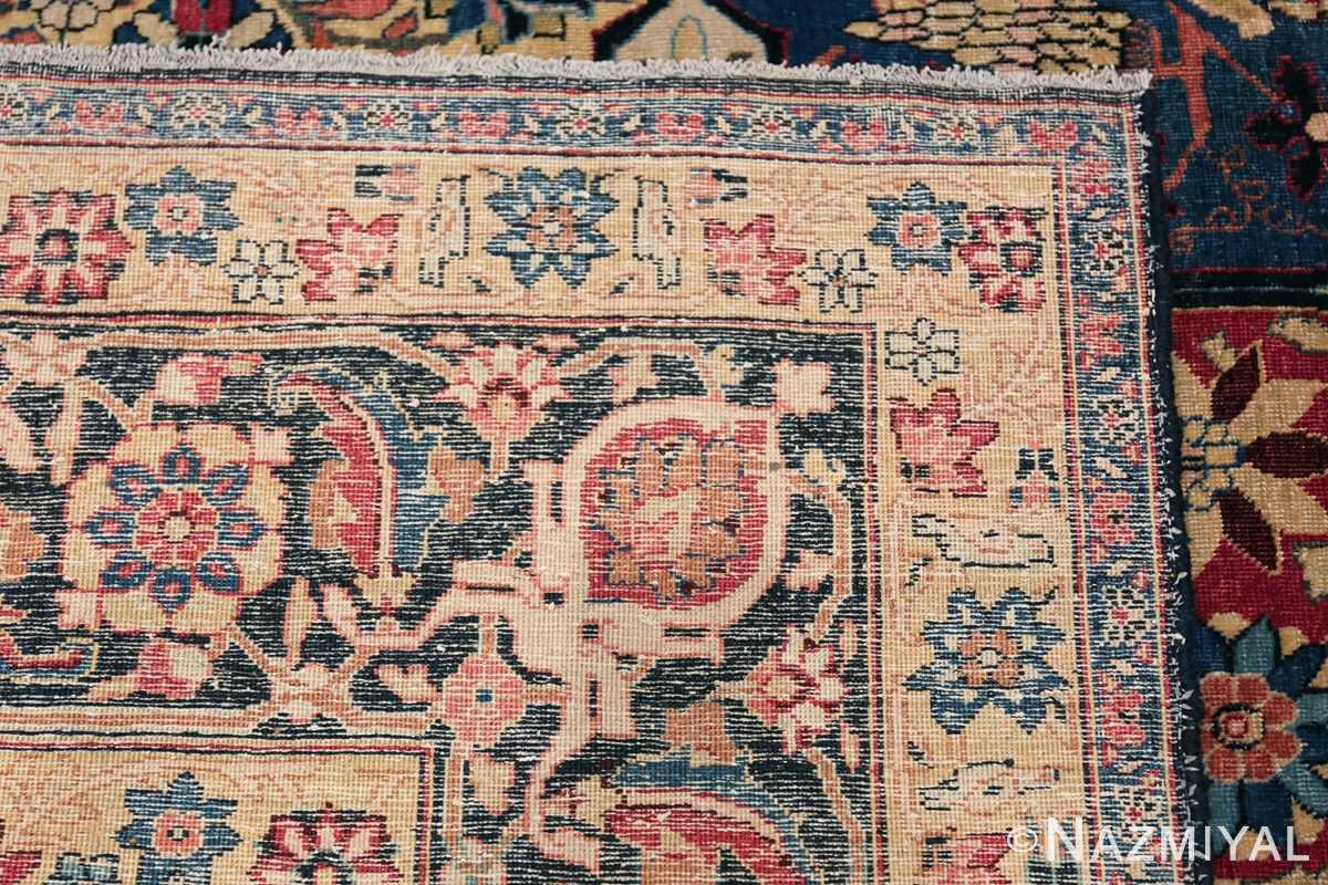 Room Size Antique Persian Tabriz Rug 48580 Woven Knots Nazmiyal