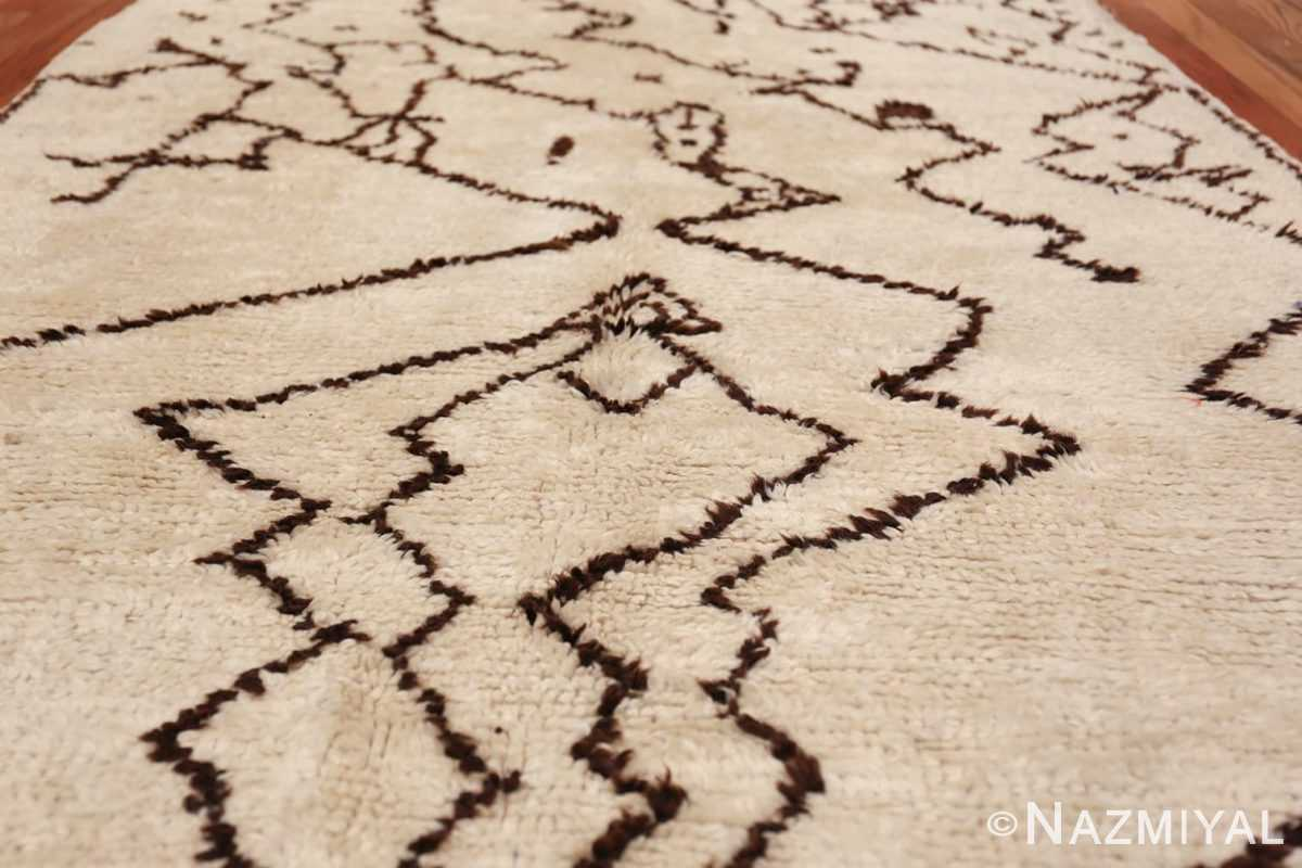 Tribal Vintage Moroccan Rug 49920 Field Design Nazmiyal
