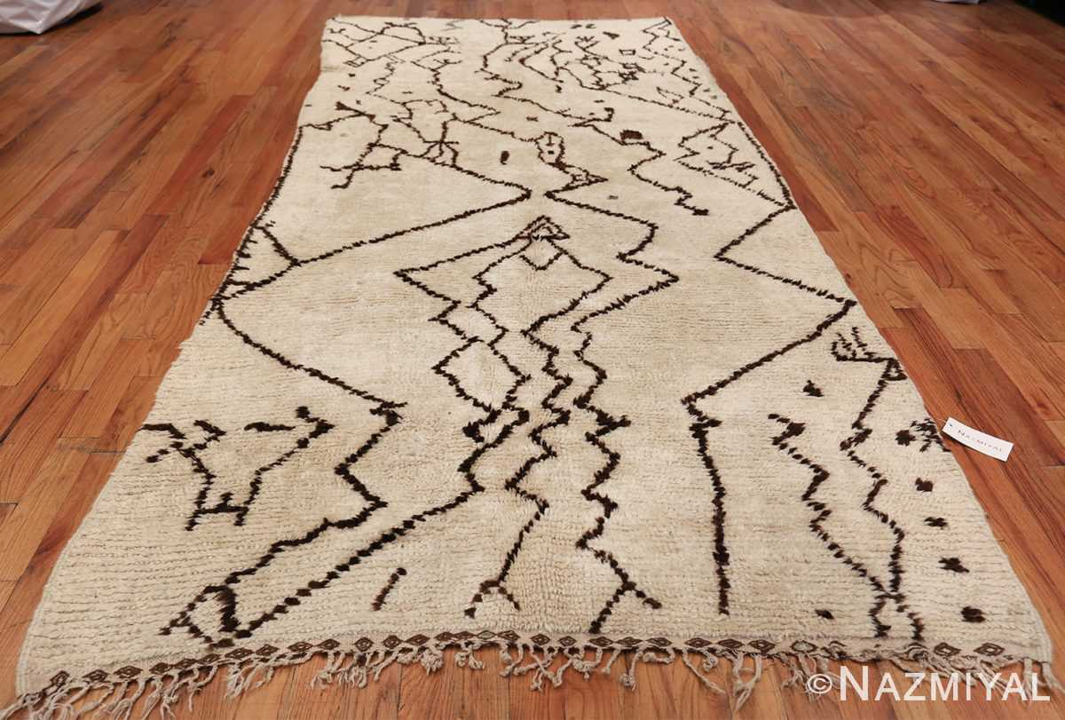Tribal Vintage Moroccan Rug 49920 Whole Design Nazmiyal