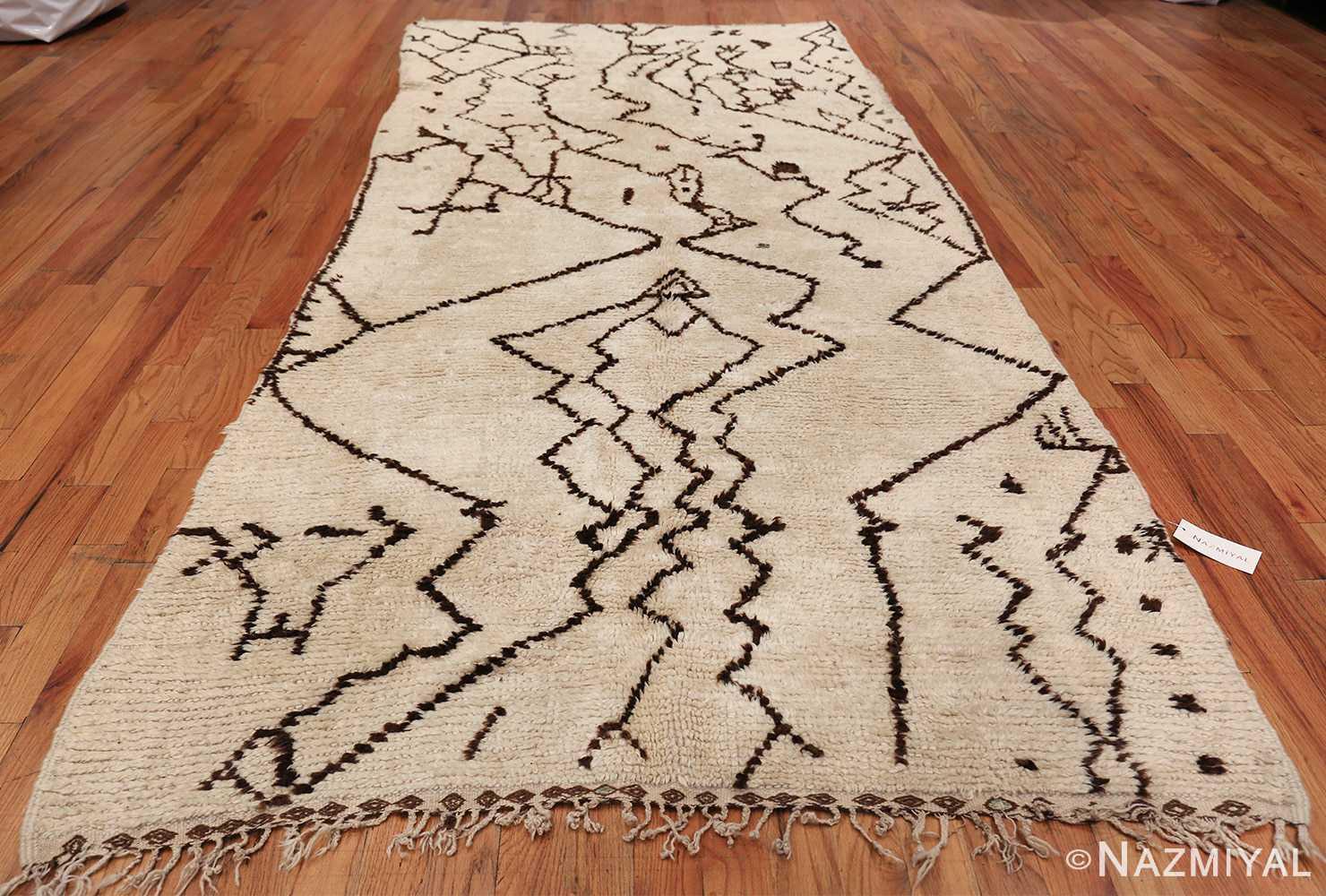 Tribal Vintage Moroccan Rug 49920 Whole Design Nazmiyal