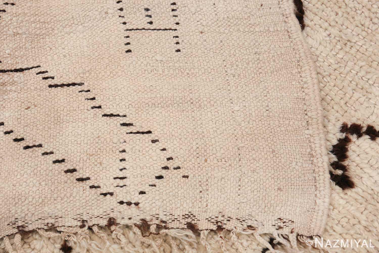 Tribal Vintage Moroccan Rug 49920 Woven Knots Nazmiyal