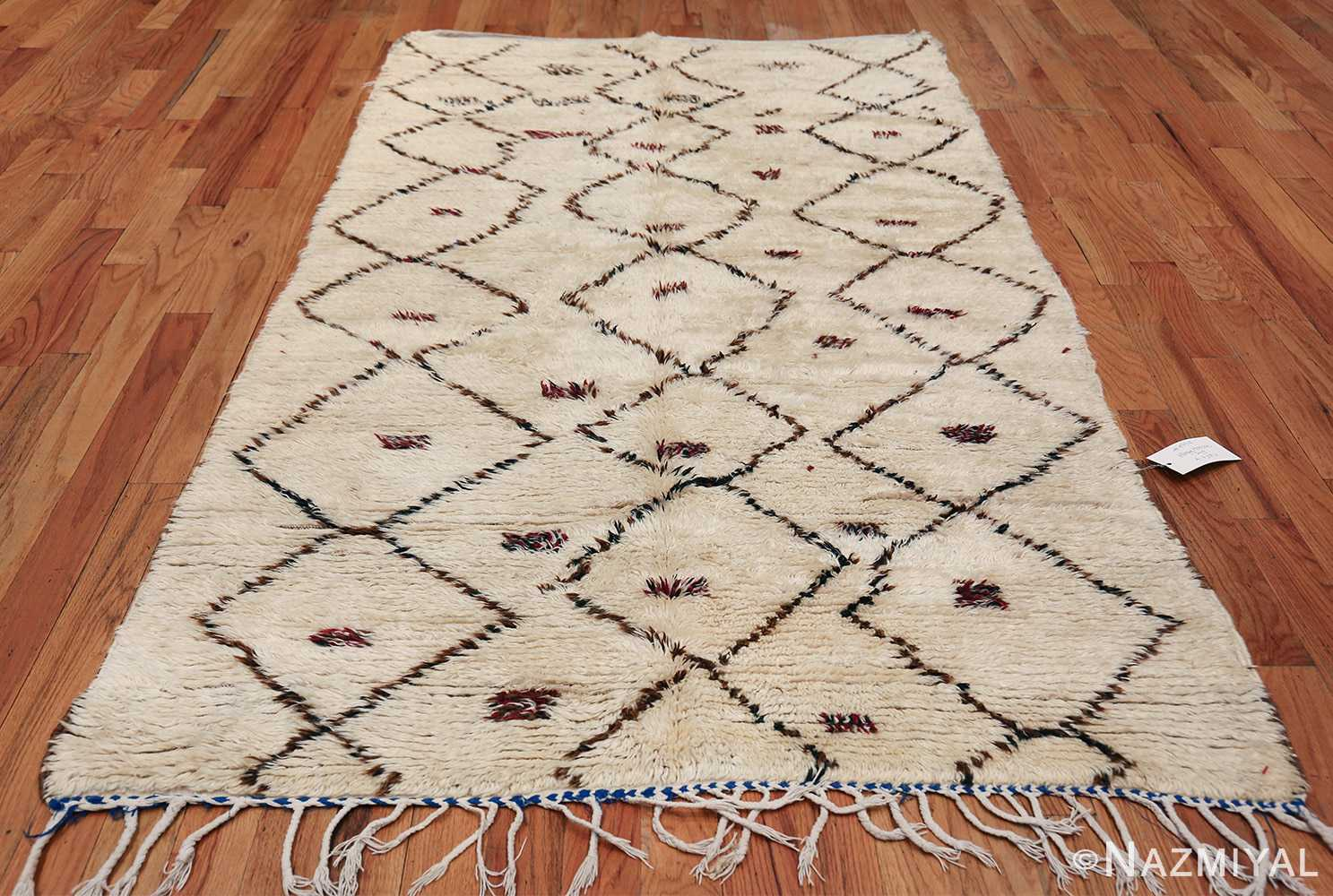 Vintage Small Size Moroccan Rug 49918 Whole Design Nazmiyal