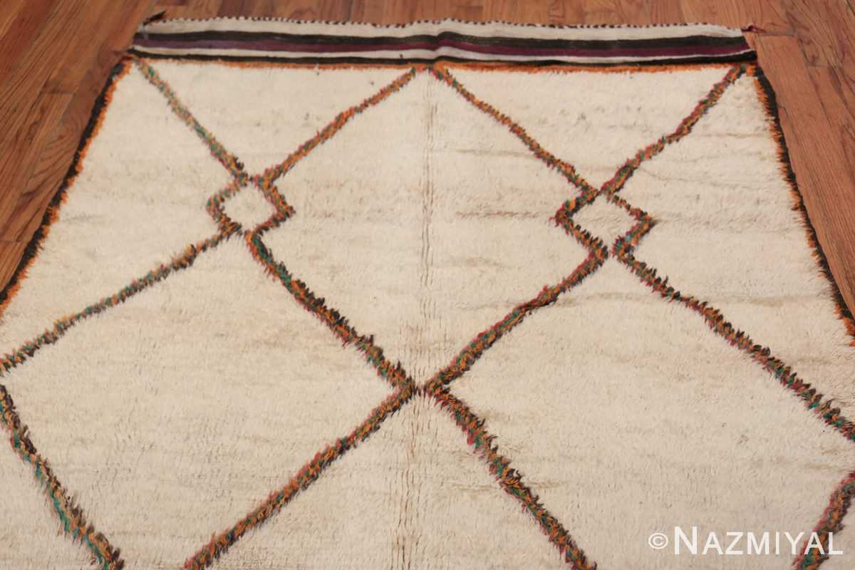 Vintage Wide Hallway Moroccan Rug 49919 Top Design Nazmiyal