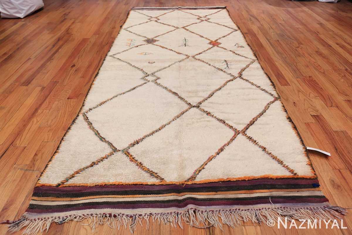 Vintage Wide Hallway Moroccan Rug 49919 Whole Design Nazmiyal