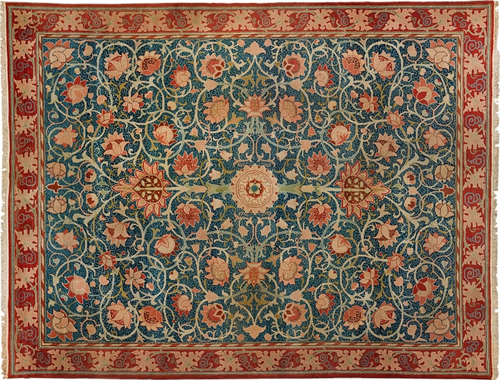 William Morris Rug From The Metropolitan Museum Of Art - Posted to nazmiyal