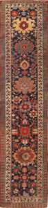 Antique Tribal North West Persian Runner Rug 49989 from Nazmiyal