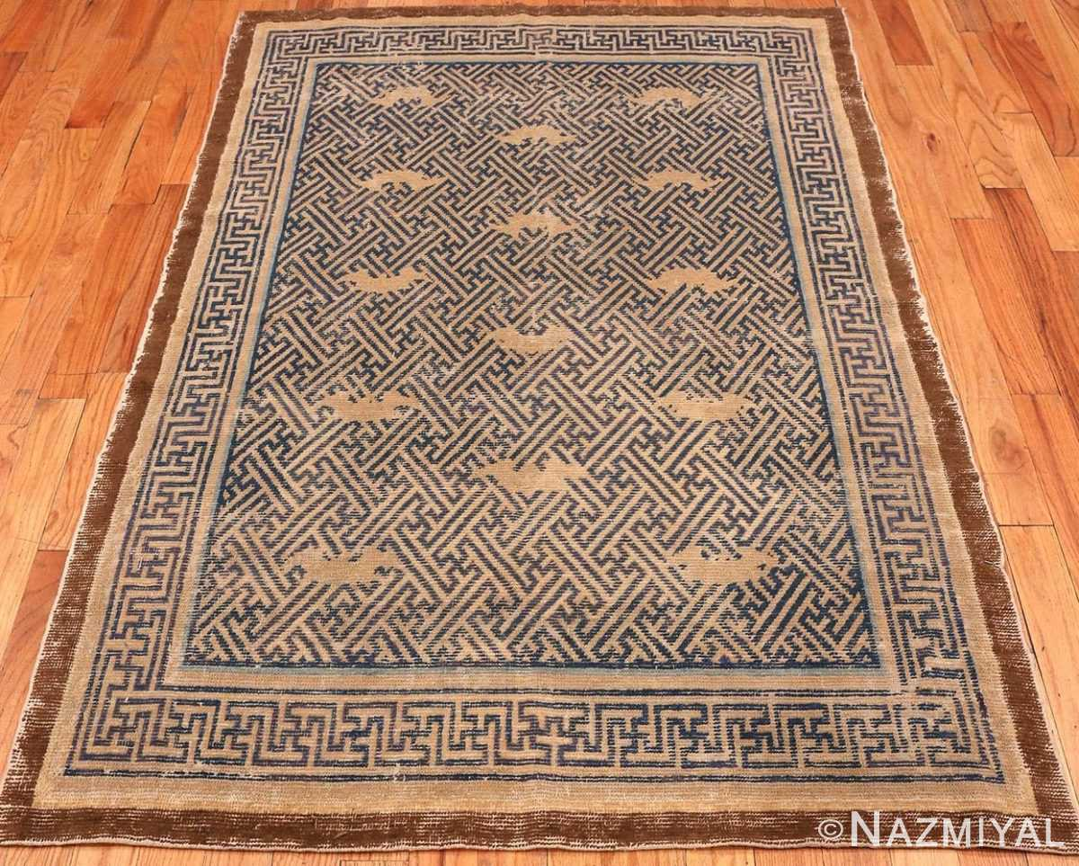 17th Century Antique Chinese Ninghsia Rug 49999 from Nazmiyal