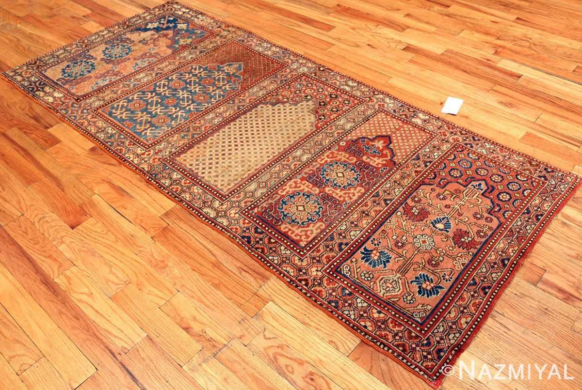 1800's Khotan Saf Prayer rug from East Turkestan #49972 from Nazmiyal Antique Rugs in NYC.