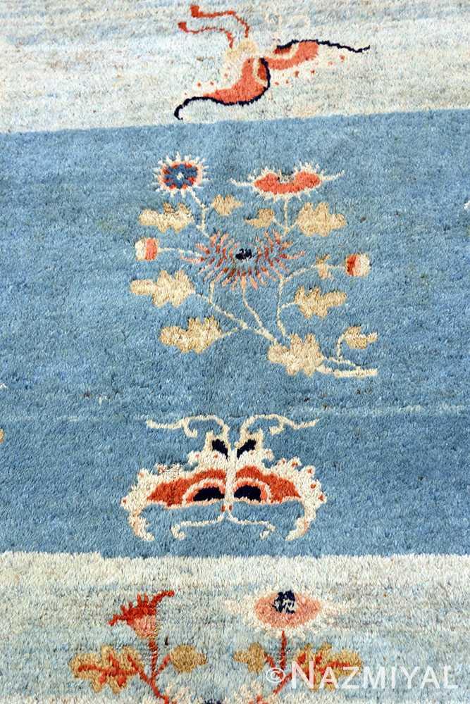 18th Century Kansu Carpet from China Nazmiyal 49944