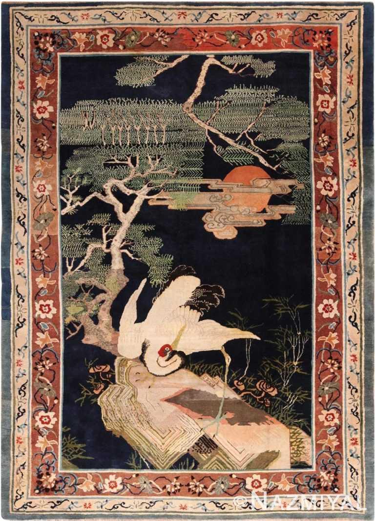 Antique 19th Century Chinese Carpet 49954