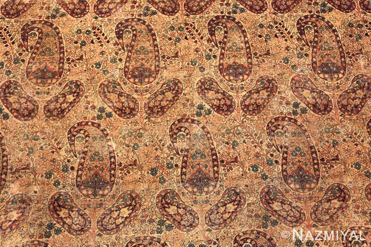 Antique Persian Kerman Rug by Master Weaver Kermani #49958 from Namziyal Antique Persian Rugs in NYC